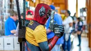 Comic fans descended on the Old Bethpage Village