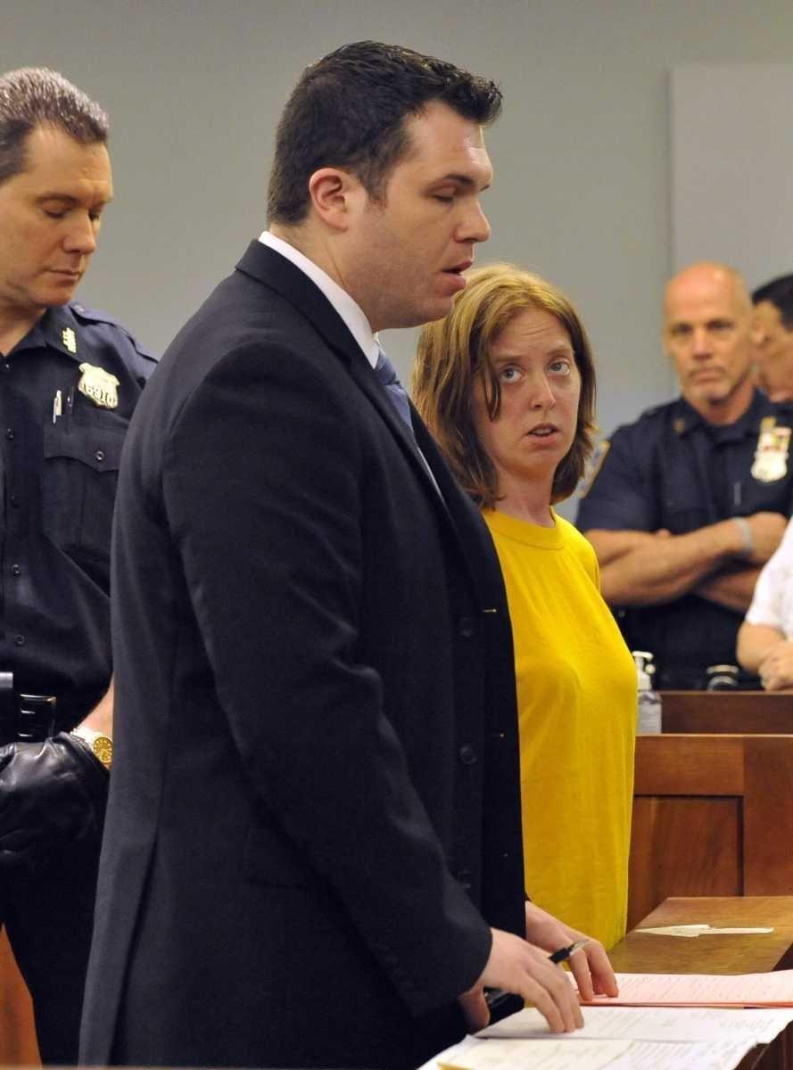 Melinda Brady, wife of David Laffer, with her