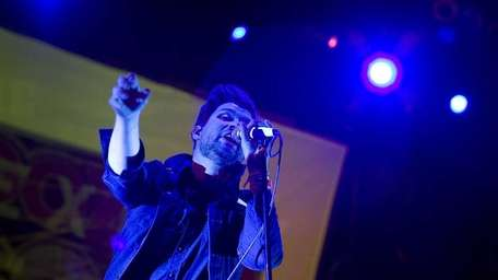 Adam Lazzara, singer of the Long Island band