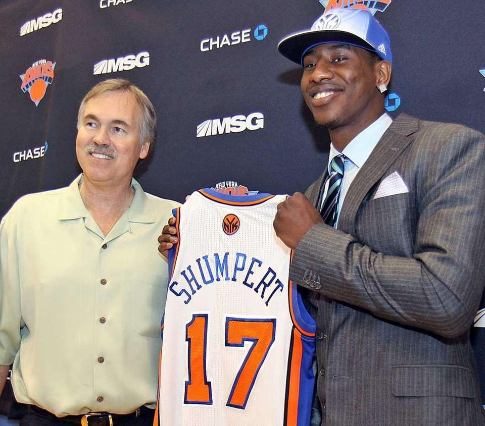 Iman Shumpert, the team's first-round draft pick, is