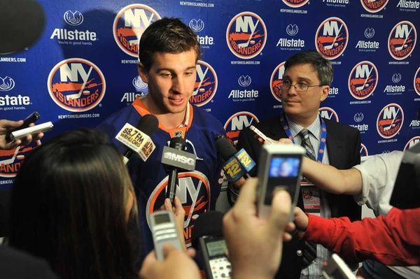 June 24, 2011--New York Islanders star center John