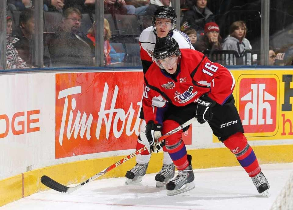 Prospect Ryan Strome could be making an impact
