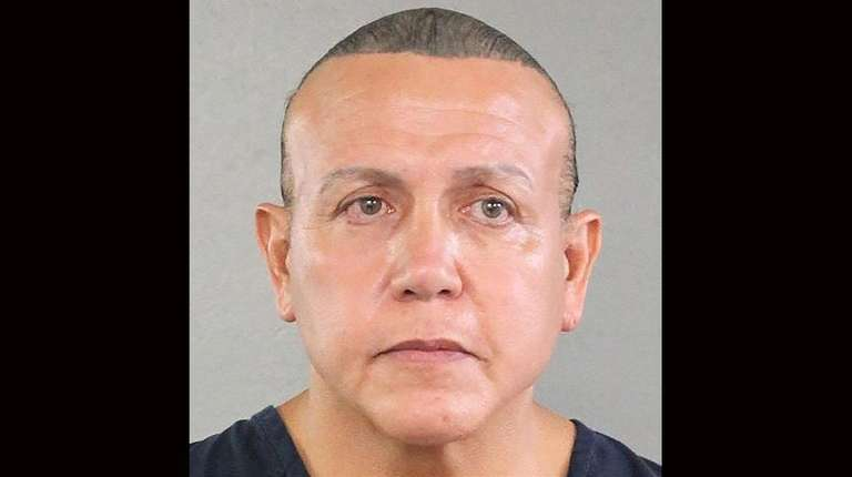 Cesar Sayoc in a July 31, 2015, booking