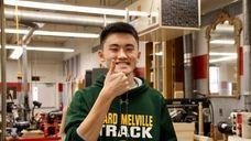 Justin Zhang, a junior at Ward Melville High