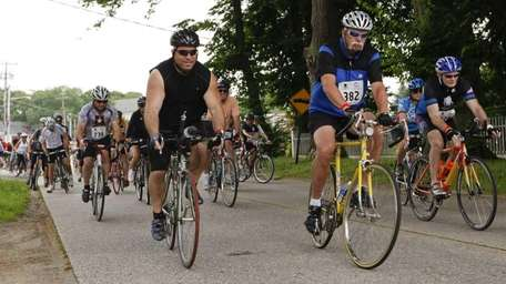 A Wounded Warrior Project Soldier's Ride took place