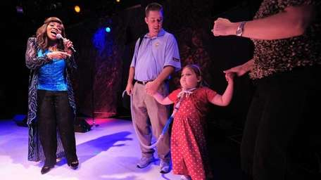 Gloria Gaynor, known for singing the popular disco