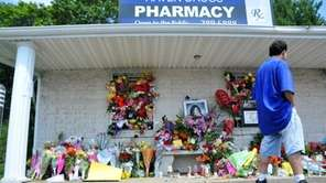 Community members continue to visit Haven Drugs, leaving
