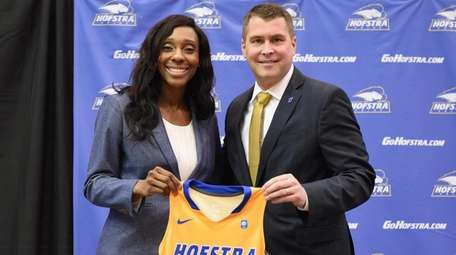 Hofstra Director of Athletics Rick Cole Jr. welcomes