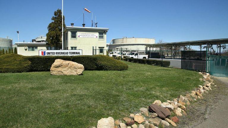 United Riverhead Terminal's petroleum storage facility in Jamesport