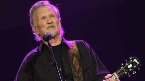 Kris Kristofferson brings his distinctive Americana to the