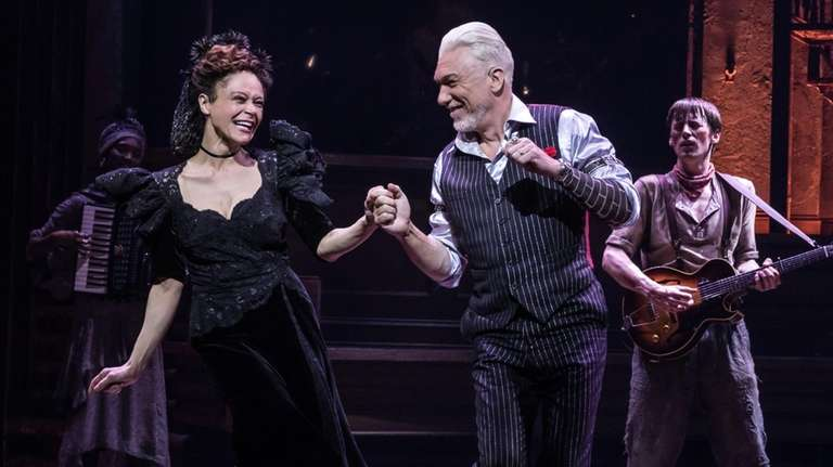 "Amber Gray and Patrick Page star in ""Hadestown,"