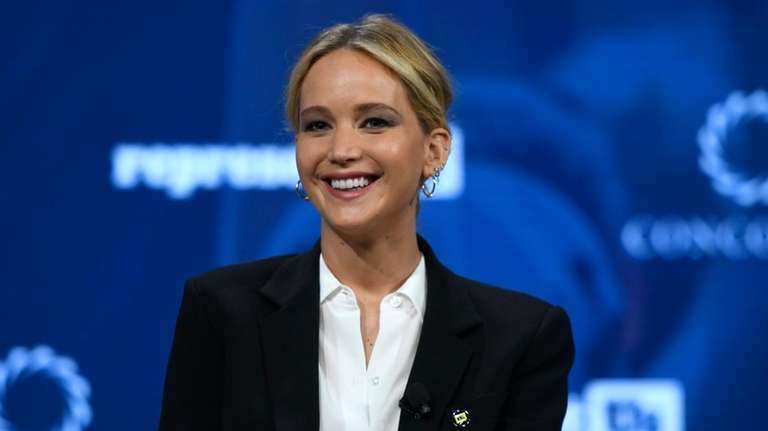 Jennifer Lawrence, who took a break from acting