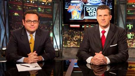 MSG Network's NY Knicks post-game show with Bill