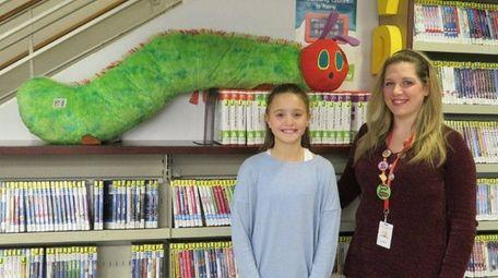 Kidsday reporter Ella DiLorenzo, of Canaan Elementary School