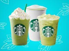Starbucks offers Matcha three ways -- green tea