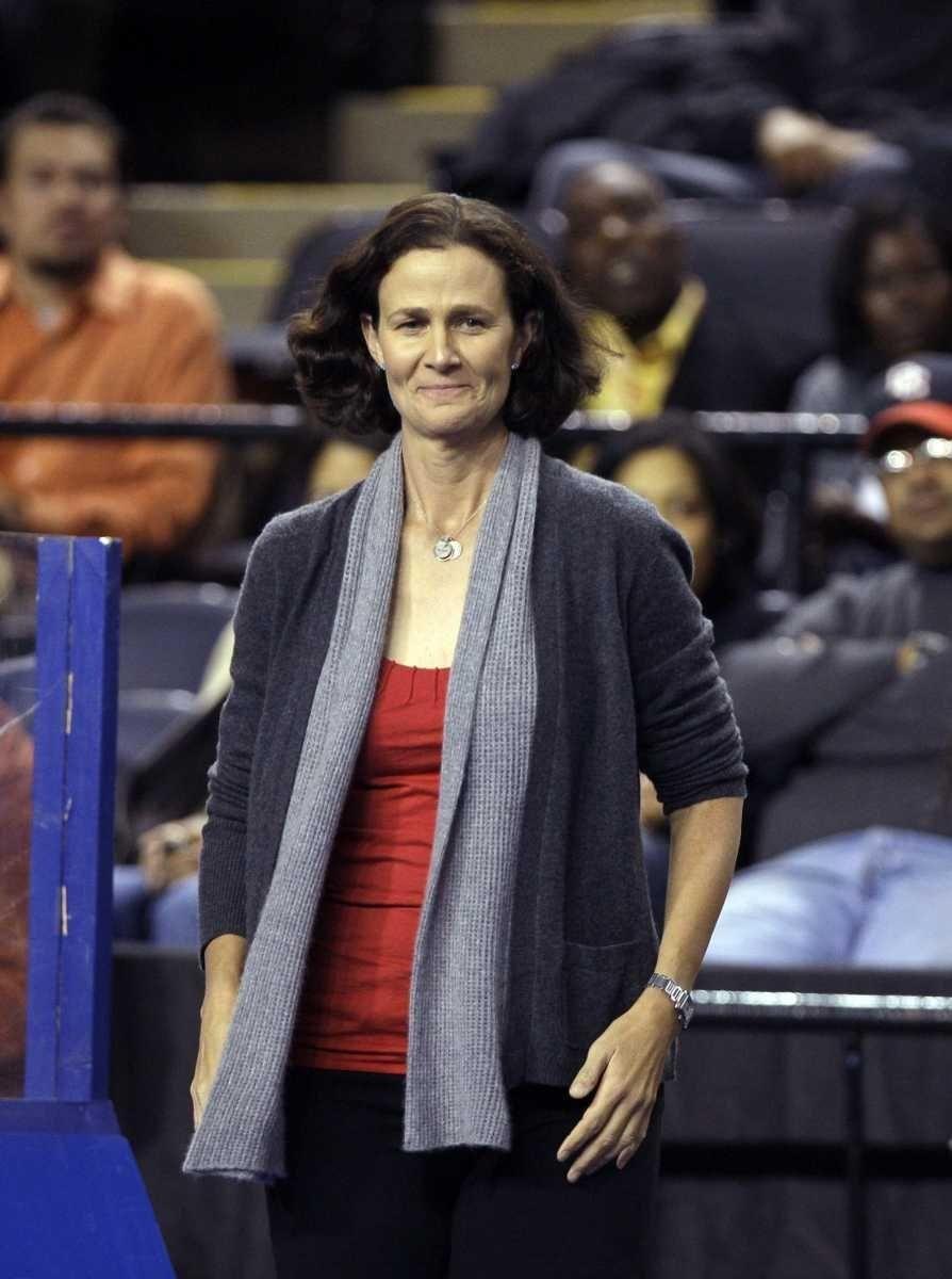 Pam Shriver is a five-time Wimbledon doubles champion,