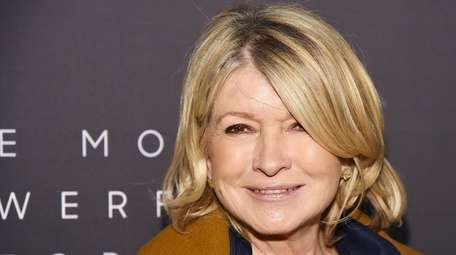 Martha Stewart, seen on Thursday.
