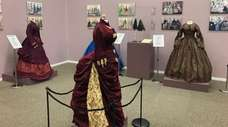 Women's 19th century fashions made with baleen from
