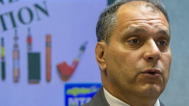 Oyster Bay Town Supervisor Joseph Saladino on Monday