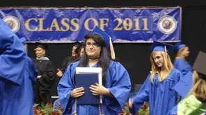 About 650 students graduated from Massapequa High School