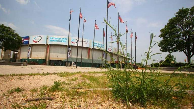 The Nassau Coliseum. (June 18, 2011)