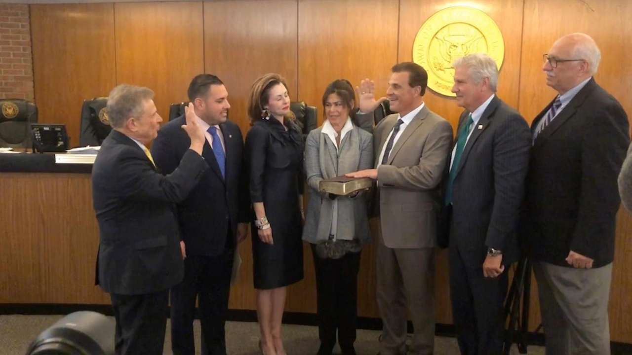 The Hempstead Town Board on Tuesday appointed Thomas