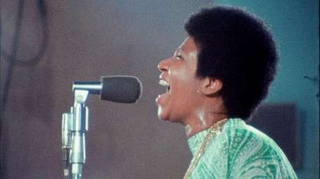 """Amazing Grace"" is a documentary about Aretha"