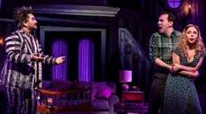 """Beetlejuice,"" starring Alex Brightman, left, in the title"