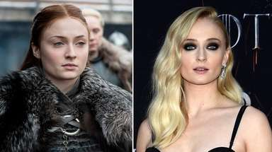 "Sophie Turner as her ""Game of Thrones"" character"