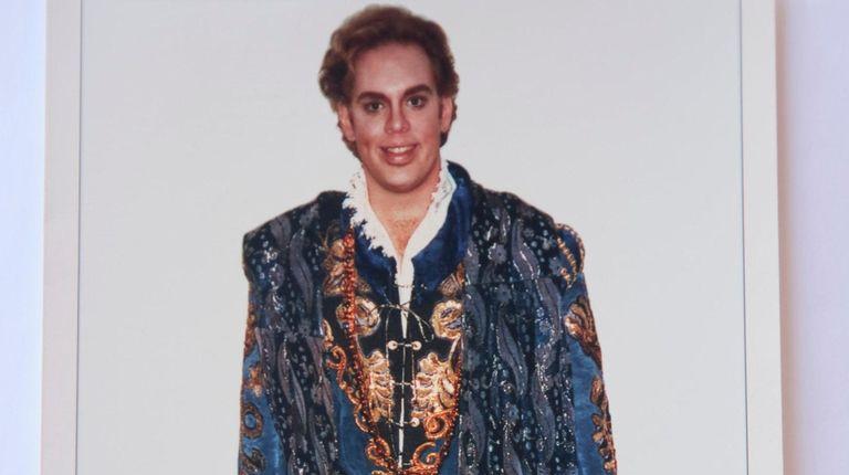 Opera singer John Horton Murray is shown in