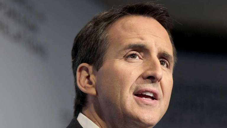 Tim Pawlenty speaks at the Council on Foreign