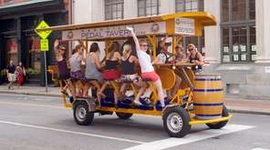 Book a Pedal Tavern ride in downtown Nashville,