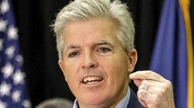 Suffolk County Executive Steve Bellone on March 24.