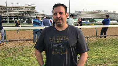 Long Island's Mike Repole at Churchill Downs.