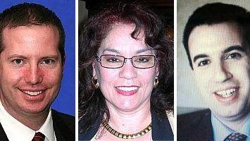 William J. McDonald, Vickie DeFriest, Dominick Miserandino