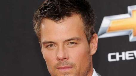 Josh Duhamel attends the premiere of his new