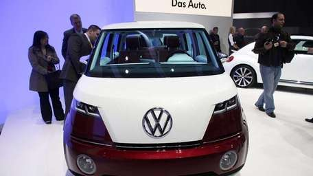 The new Volkswagen Bulli is unveiled on the