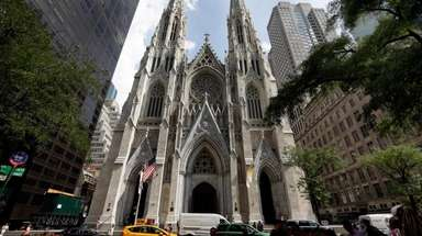 St. Patrick's Cathedral last year.