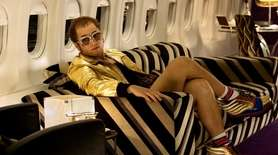 ROCKETMAN (MAY 31) Partway through production of