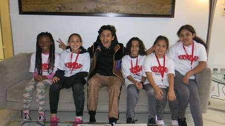 """Breakthrough"" actor Marcel Ruiz with Kidsday reporters, from"