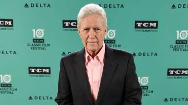 Alex Trebek at the screening of 'Wuthering