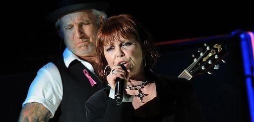 Pat Benatar and her husband, Neil Giraldo, come