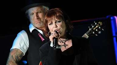 Pat Benatar and her husband, Neil Giraldo, come