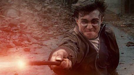 Daniel Radcliffe as Harry Potter in Warner Bros.