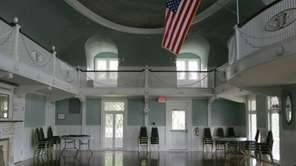 The Masury Estate ballroom is a remnant of