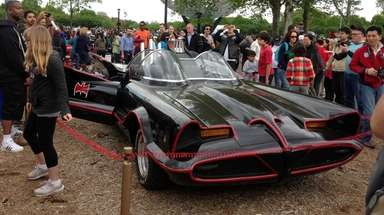 The Batmobile #6 from the 1966 TV series,