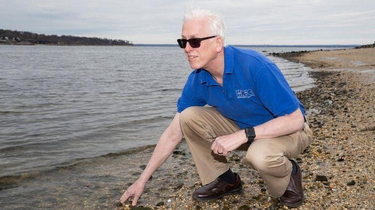 Eric Swenson, executive director for the Hempstead Harbor