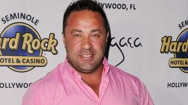 Joe Giudice appears at Pangea Nightclub at the