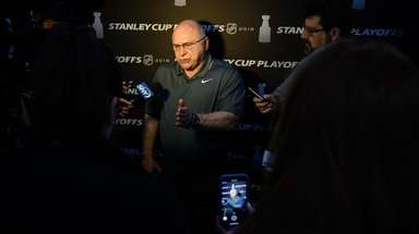 On Thursday, Islanders head coach Barry Trotz talked about