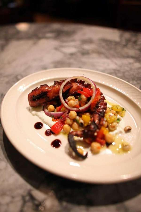 Octopus at MP Taverna restaurant in Roslyn. (June
